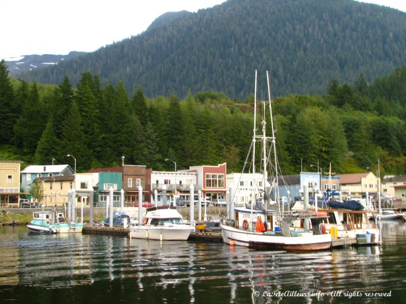 Le port de Ketchikan