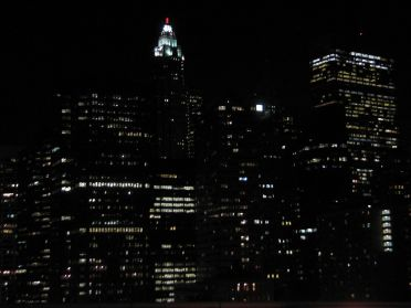 Les lumieres de Manhattan
