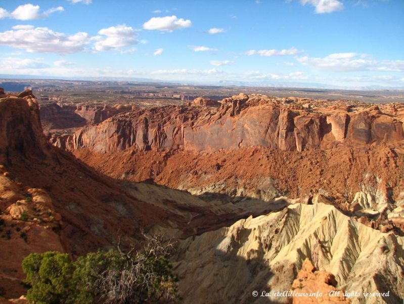 Le Upheaval Dome, un cratere dont la creation reste un mystere